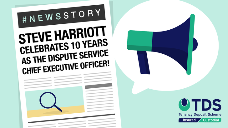 The 27th September 2020 marked Chief Executive Officer (CEO), Steve Harriott's, 10th year with the Dispute Service.