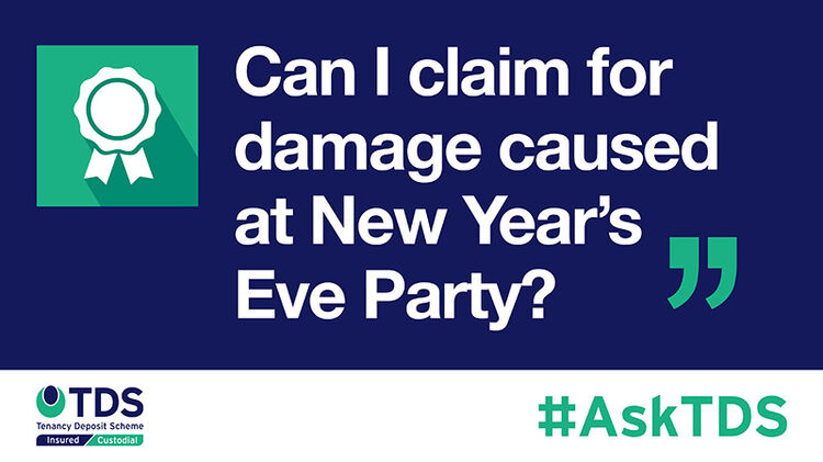 Image of AskTDS: Can I claim for damage caused at a New Year's Eve party