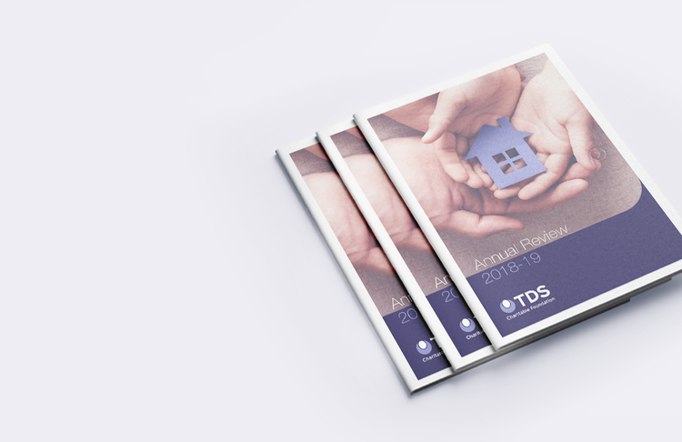 TDS Charitable Foundation Annual Review Cover 2018-19