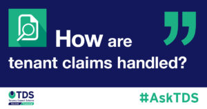 How are tenant claims handles? image