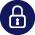 Deposit Protection Locked Padlock