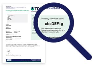 certificate code image