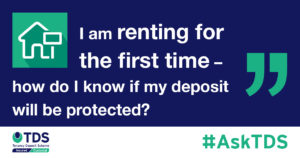 how do I know when my deposit is protected graphic