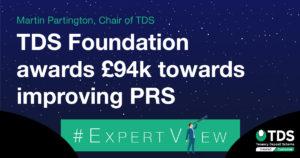 TDS Foundation awards 94k towards improving PRS
