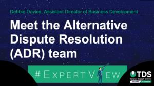 image saying Meet the TDS Alternative Dispute Resolution team