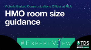 #ExpertView: HMO room size guidance - TDS
