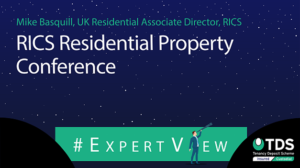 "Image saying ""#ExpertView: RICS Residential Property Conference"""