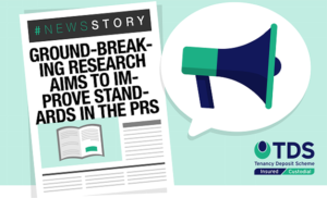 "Image saying ""Ground-breaking research aims to improve standards in the PRS"""