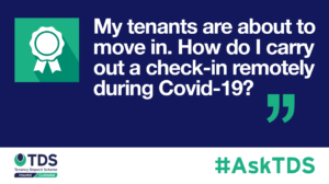 AskTDS blog graphic - check ins remotely during Covid-19