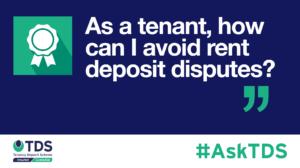 AskTDS blog image - rent deposit disputes