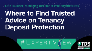 ExpertView Graphic: Where you can find trusted advice on tenancy deposit protection.