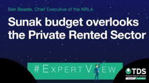 NRLA: Sunak budget overlooks the Private Rented Sector