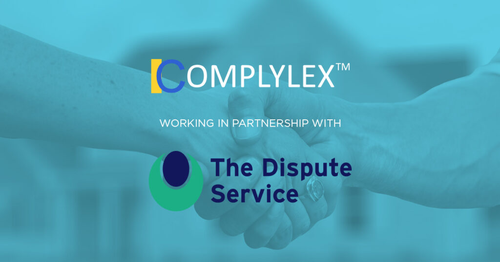 Complylex in partnership with the Dispute Service