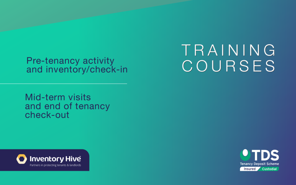 TDS & Inventory Hie Training courses