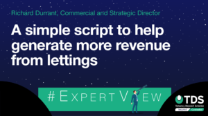 A simple script for agents to help generate more revenue from lettings